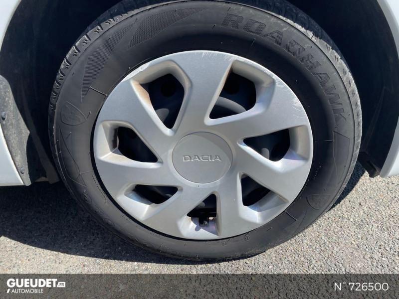 Dacia Logan MCV 1.5 dCi 75ch Silverline Blanc occasion à Crépy-en-Valois - photo n°9