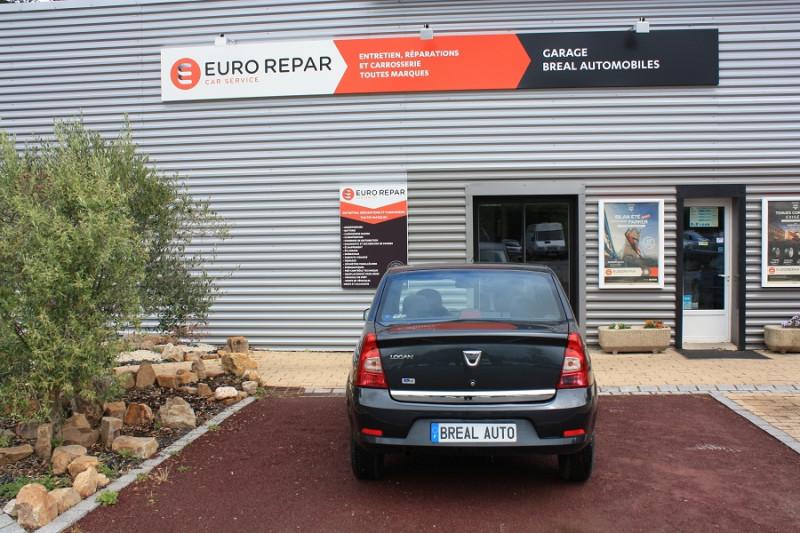 Dacia Logan 1.2 I 75 Gris occasion à Bréal-sous-Montfort - photo n°4