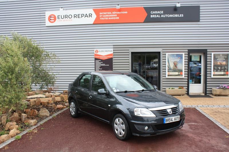 Dacia Logan 1.2 I 75 Gris occasion à Bréal-sous-Montfort
