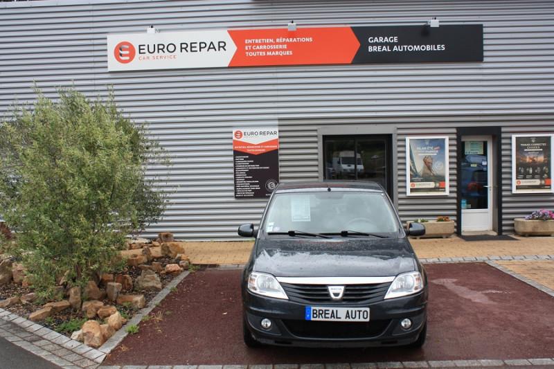 Dacia Logan 1.2 I 75 Gris occasion à Bréal-sous-Montfort - photo n°2