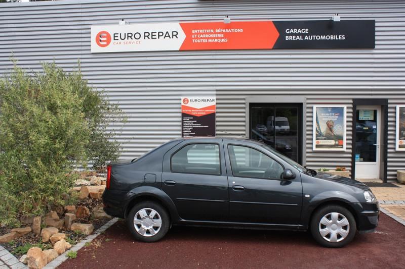 Dacia Logan 1.2 I 75 Gris occasion à Bréal-sous-Montfort - photo n°3
