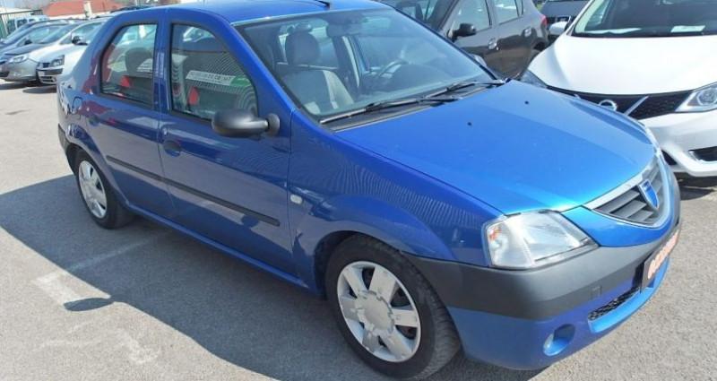 Dacia Logan 1.6 MPI 90CH LAUREATE Bleu occasion à FONTAINE LES GRES