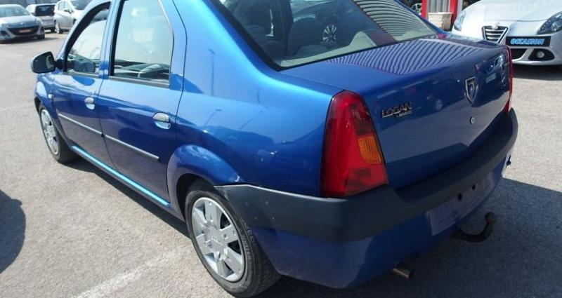 Dacia Logan 1.6 MPI 90CH LAUREATE Bleu occasion à FONTAINE LES GRES - photo n°2