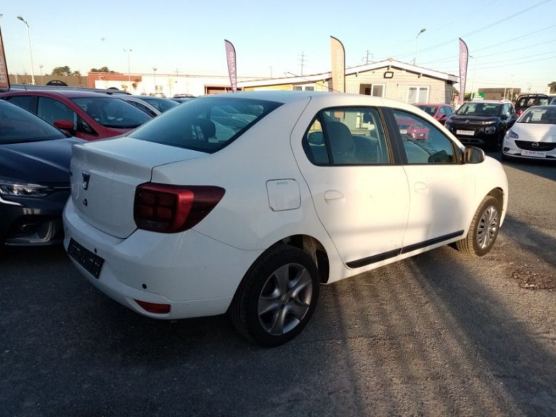 Dacia Logan SL PLUS 1.0 75 CV GPS CLIM AUTO GPS Blanc occasion à Biganos - photo n°3