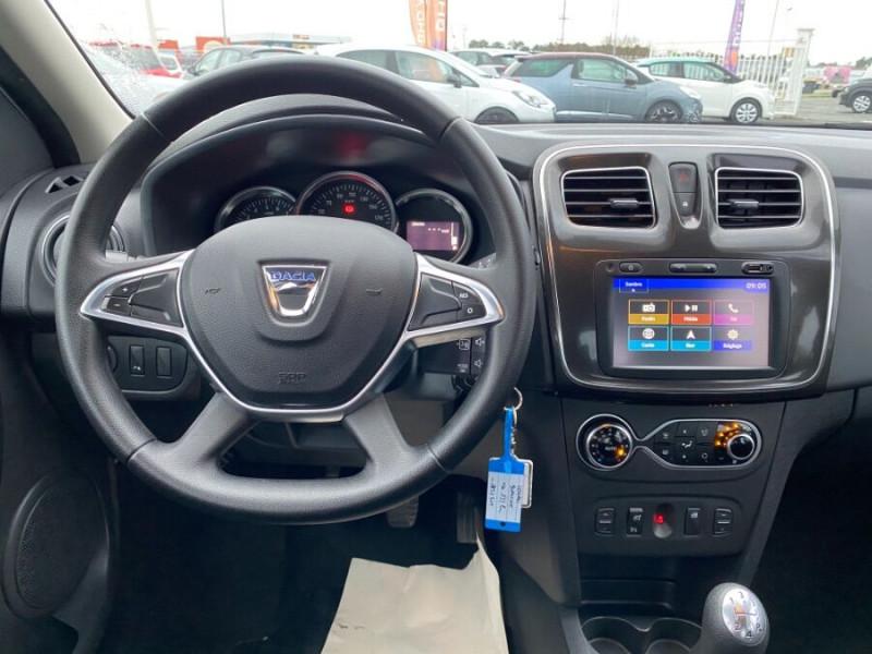 Dacia Logan SL PLUS 1.0 75 CV GPS CLIM AUTO GPS Blanc occasion à Biganos - photo n°2