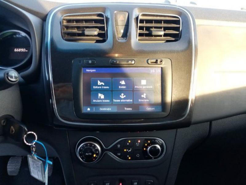 Dacia Logan SL PLUS 1.0 75 CV GPS CLIM AUTO GPS Blanc occasion à Biganos - photo n°6