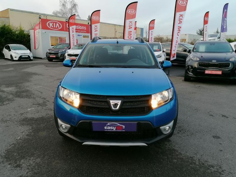 Dacia Sandero 0.9 TCe 90ch Stepway Ambiance Euro6 Bleu occasion à Jaux - photo n°2