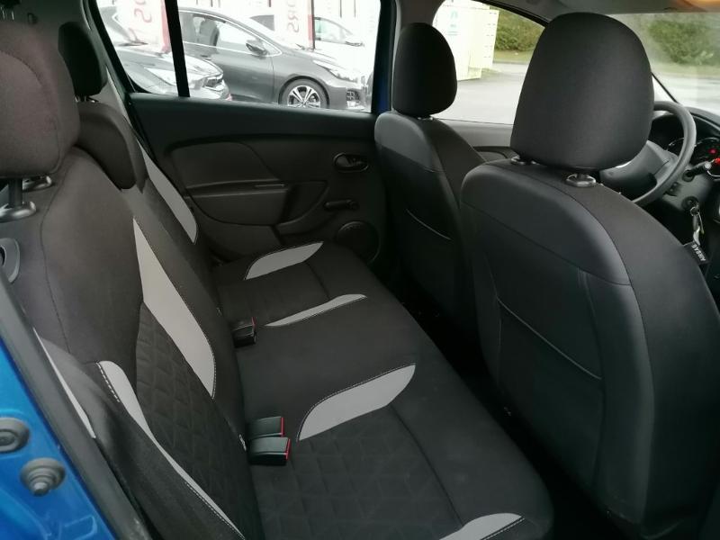 Dacia Sandero 0.9 TCe 90ch Stepway Ambiance Euro6 Bleu occasion à Jaux - photo n°11