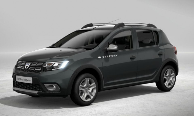 Dacia Sandero 0.9 TCe 90ch Stepway Gris occasion à PLOERMEL