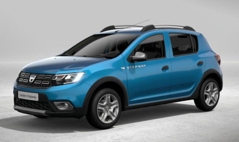 Dacia Sandero 0.9 TCe 90ch Stepway Bleu occasion à CHANTELOUP EN BRIE