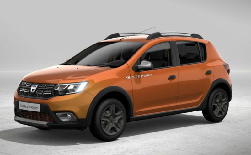 Dacia Sandero 1.0 ECO-G 100ch Stepway Confort Orange occasion à VALFRAMBERT