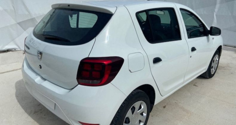 Dacia Sandero 1.0 SCe 75ch Access Blanc occasion à Tarcenay - photo n°2
