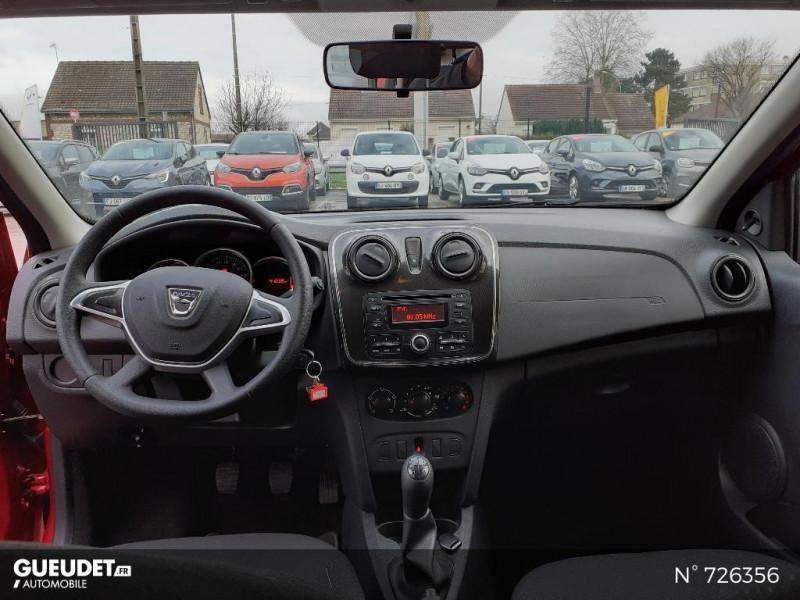 Dacia Sandero 1.0 SCe 75ch Ambiance 4cv Rouge occasion à Crépy-en-Valois - photo n°10