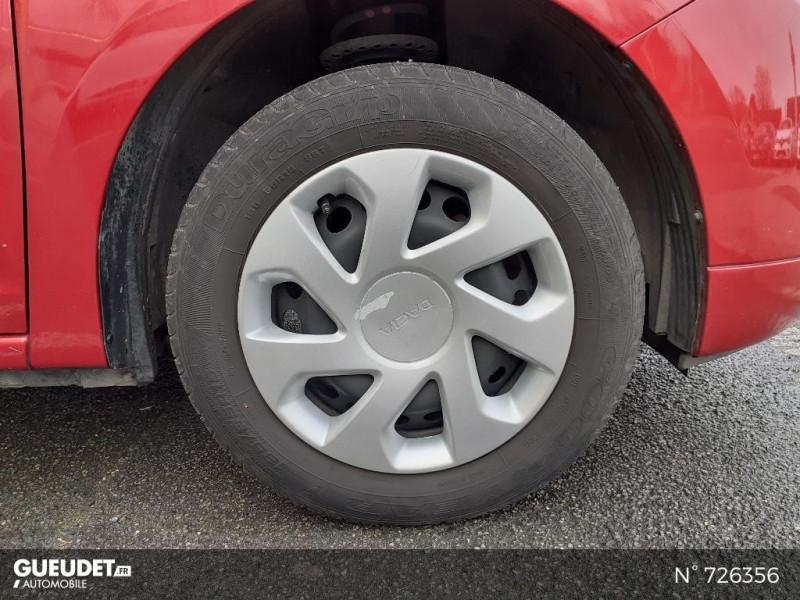 Dacia Sandero 1.0 SCe 75ch Ambiance 4cv Rouge occasion à Crépy-en-Valois - photo n°9