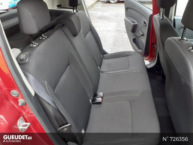 Dacia Sandero 1.0 SCe 75ch Ambiance 4cv Rouge occasion à Crépy-en-Valois - photo n°5