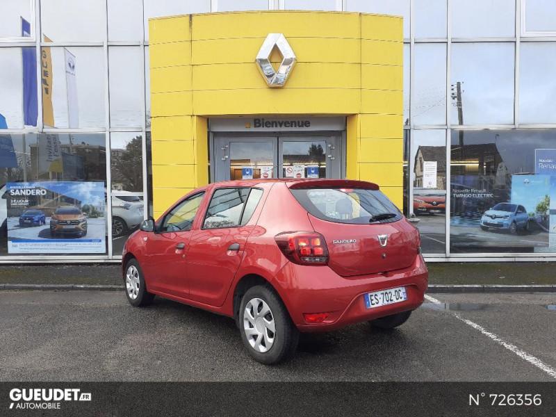 Dacia Sandero 1.0 SCe 75ch Ambiance 4cv Rouge occasion à Crépy-en-Valois - photo n°6