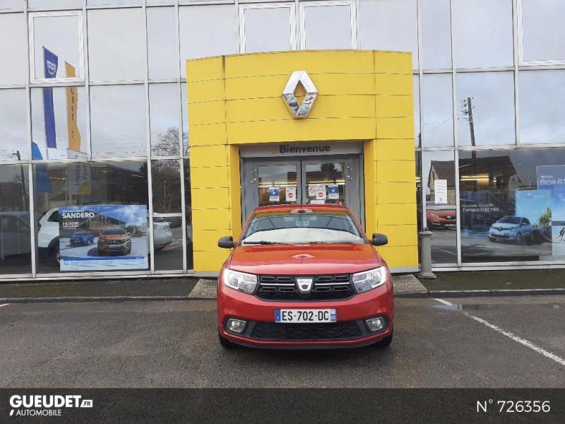 Dacia Sandero 1.0 SCe 75ch Ambiance 4cv Rouge occasion à Crépy-en-Valois - photo n°2