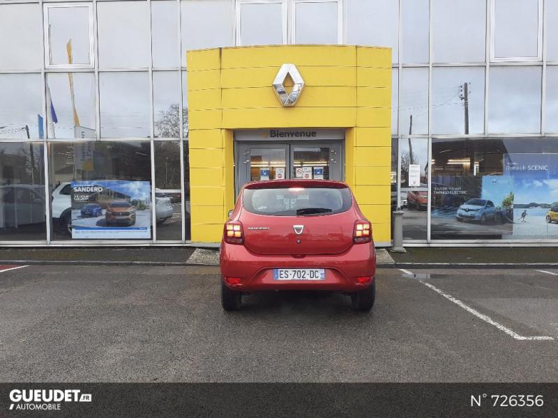 Dacia Sandero 1.0 SCe 75ch Ambiance 4cv Rouge occasion à Crépy-en-Valois - photo n°3