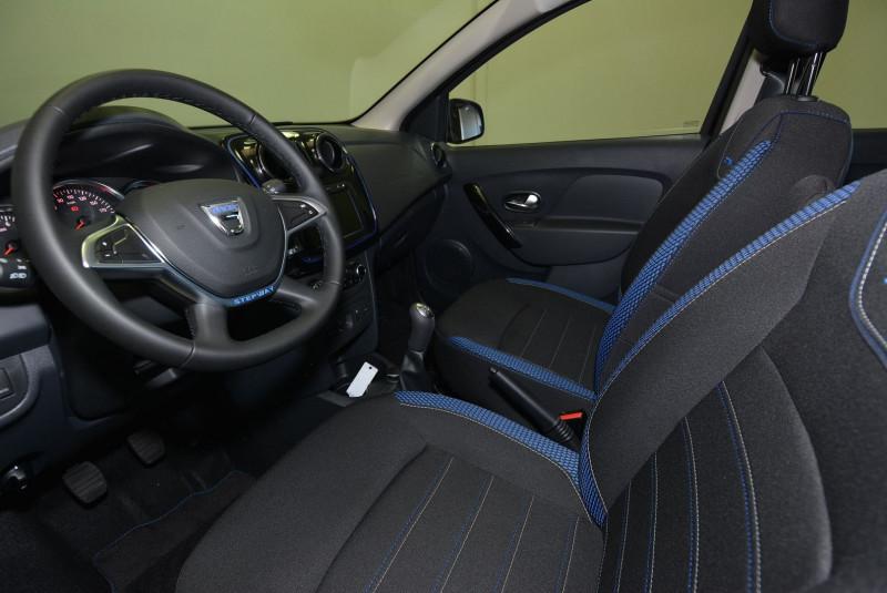 Dacia Sandero 1.5 BLUE DCI 95CH STEPWAY - 20 Noir occasion à Quimper - photo n°3