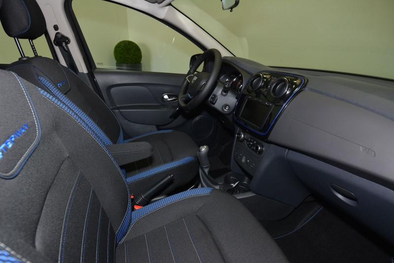 Dacia Sandero 1.5 BLUE DCI 95CH STEPWAY - 20 Noir occasion à Quimper - photo n°6