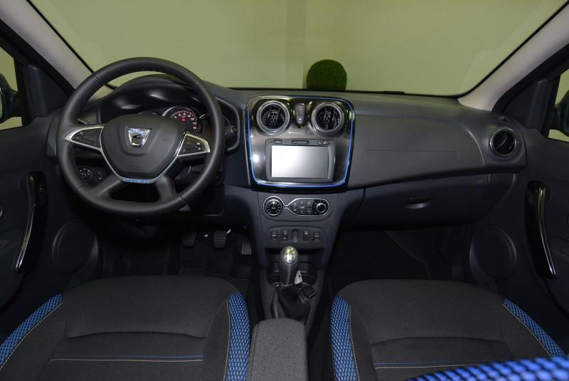 Dacia Sandero 1.5 BLUE DCI 95CH STEPWAY - 20 Noir occasion à Quimper - photo n°5