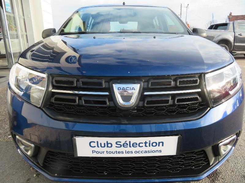 Dacia Sandero 1.5 dCi 75ch Ambiance Bleu occasion à Auxerre - photo n°2