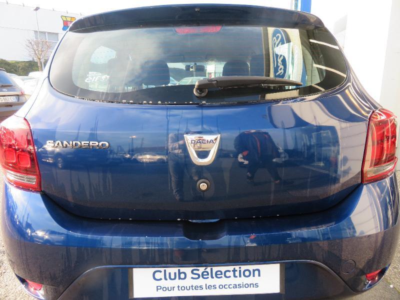 Dacia Sandero 1.5 dCi 75ch Ambiance Bleu occasion à Auxerre - photo n°5