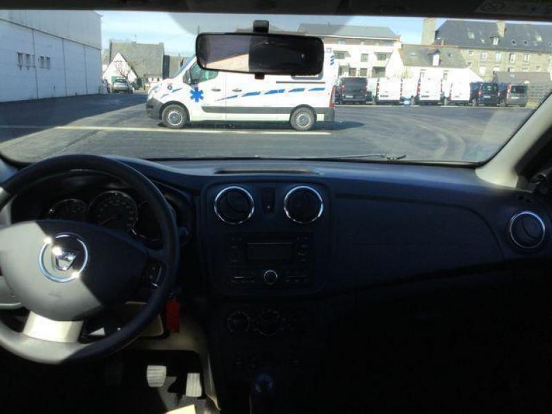 Dacia Sandero 1.5 dci 90 e6 sl music Bleu occasion à Saint-Malo - photo n°4
