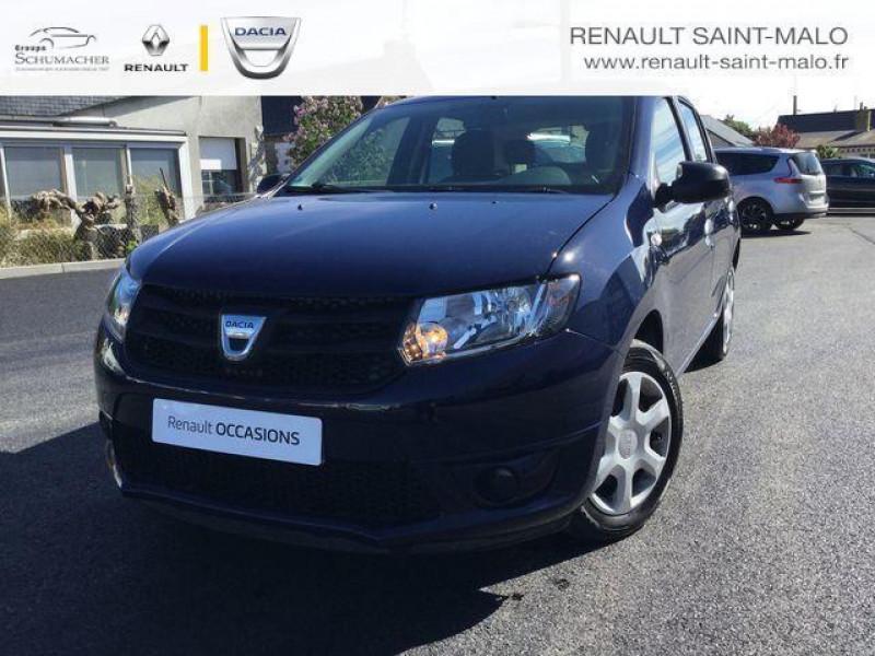 Dacia Sandero 1.5 dci 90 e6 sl music Bleu occasion à Saint-Malo