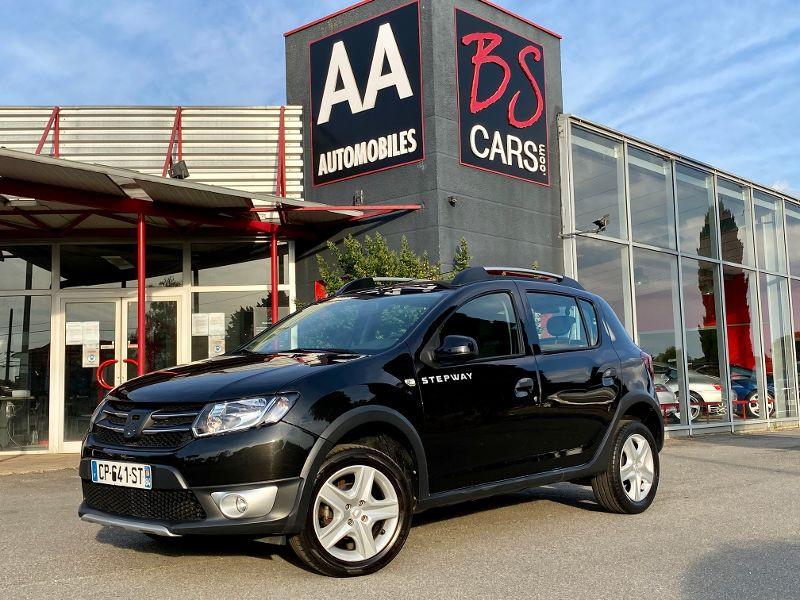 Dacia Sandero 1.5 dCi 90ch FAP Stepway Euro 5 Noir occasion à Castelmaurou