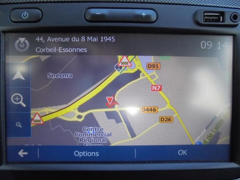 Dacia Sandero 1.5 dCi 90ch Stepway GPS CAMERA Noir occasion à Corbeil-Essonnes - photo n°3