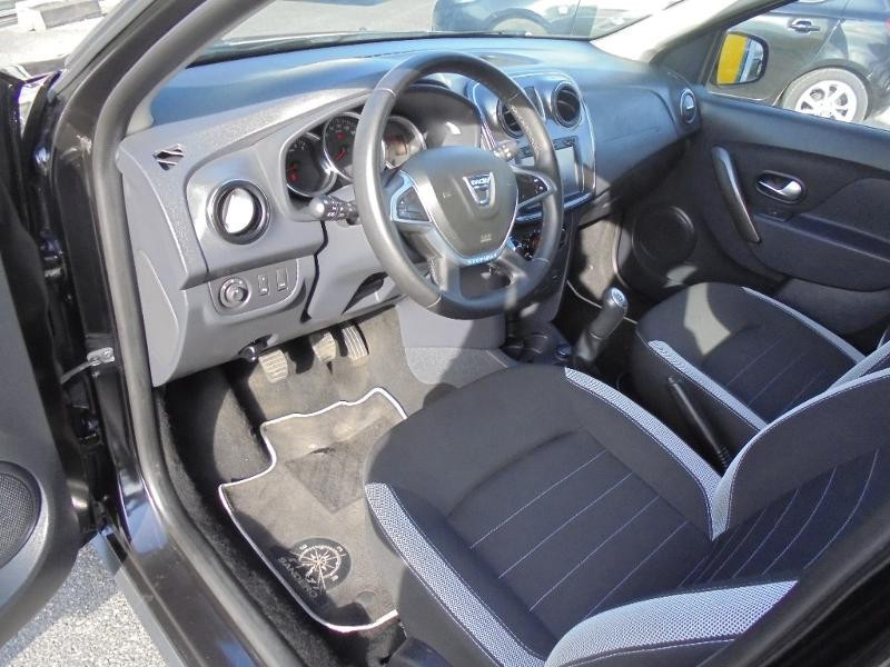 Dacia Sandero 1.5 dCi 90ch Stepway GPS CAMERA Noir occasion à Corbeil-Essonnes - photo n°14