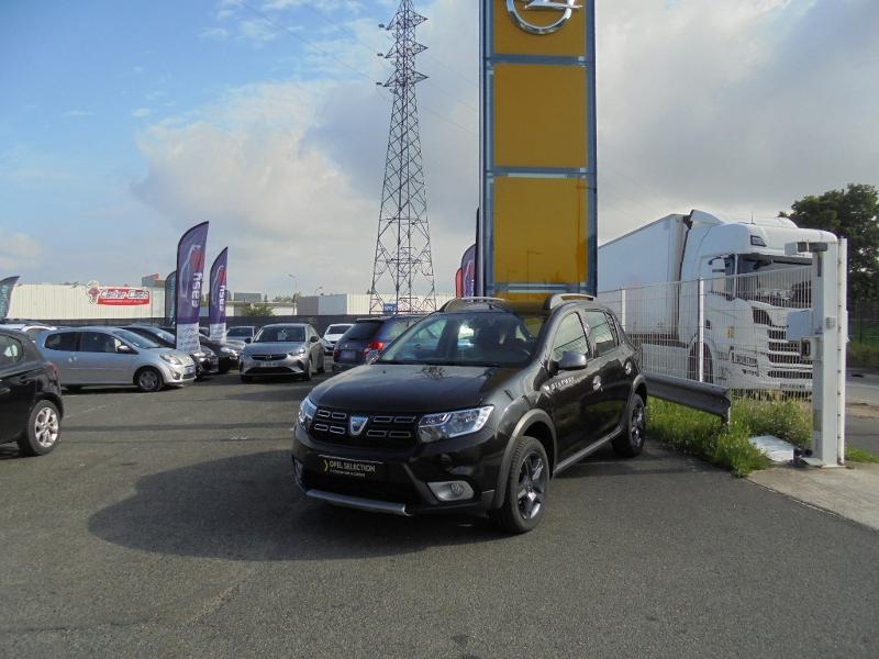 Dacia Sandero 1.5 dCi 90ch Stepway GPS CAMERA Noir occasion à Corbeil-Essonnes