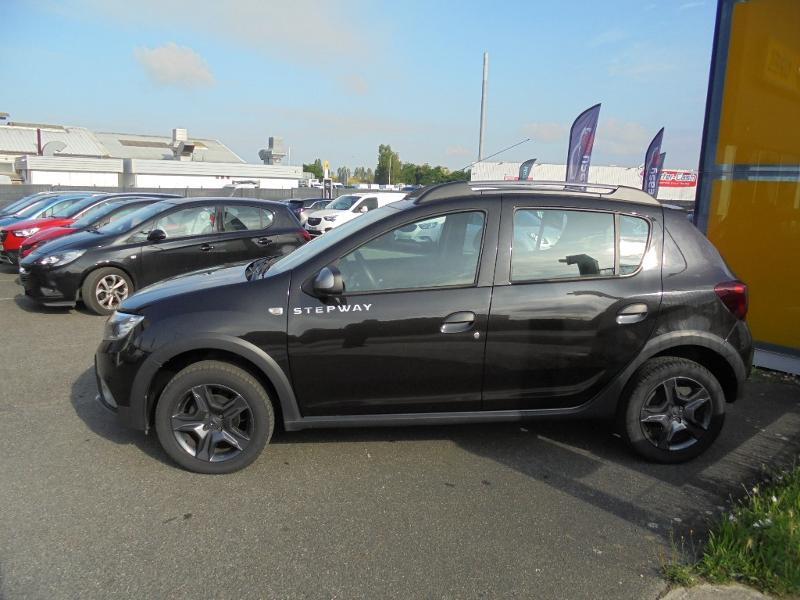 Dacia Sandero 1.5 dCi 90ch Stepway GPS CAMERA Noir occasion à Corbeil-Essonnes - photo n°5