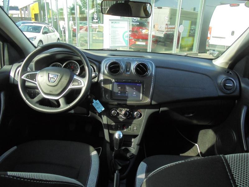 Dacia Sandero 1.5 dCi 90ch Stepway GPS CAMERA Noir occasion à Corbeil-Essonnes - photo n°11