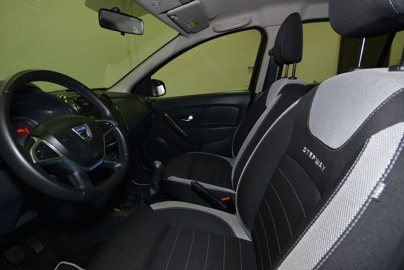 Dacia Sandero 1.5 DCI 90CH STEPWAY Marron occasion à Quimper - photo n°3