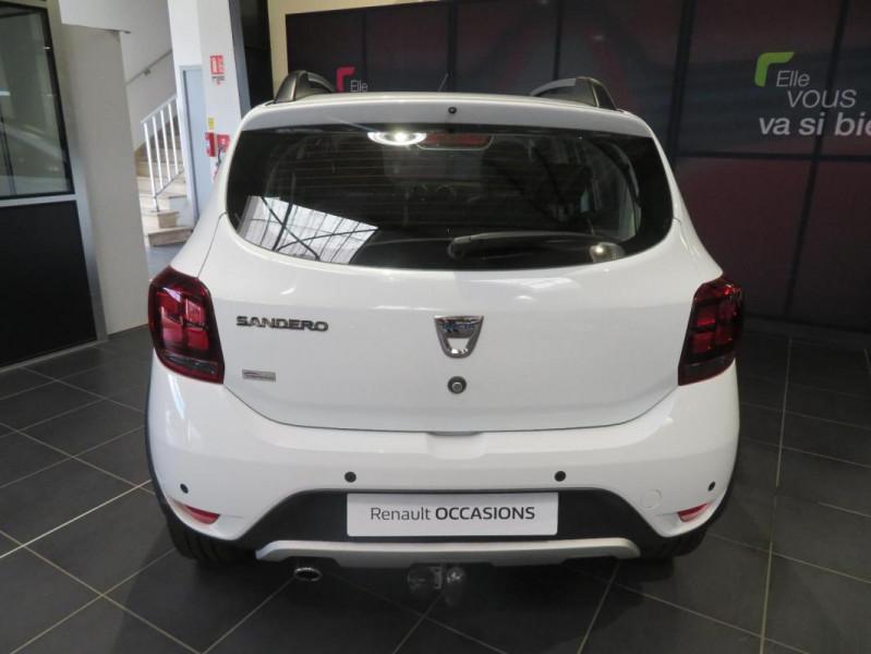 Dacia Sandero dCi 90 Stepway Blanc occasion à QUIMPER - photo n°3
