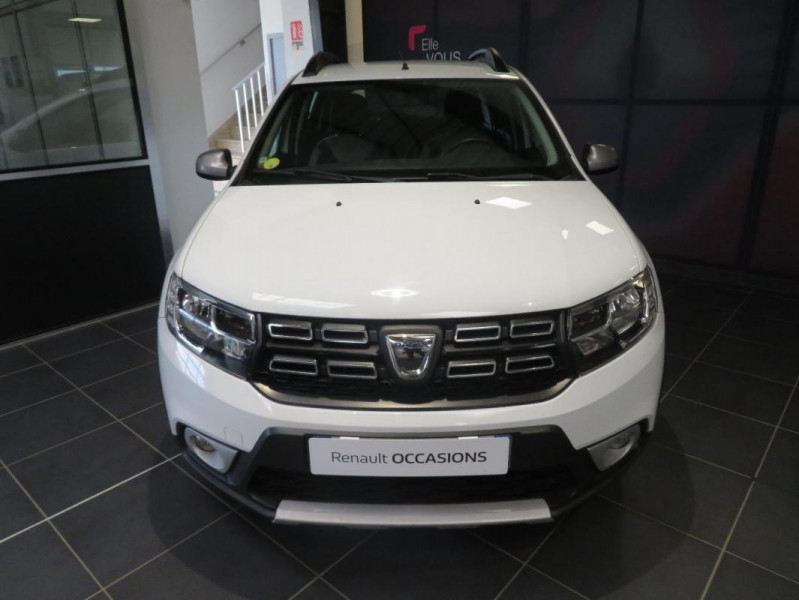 Dacia Sandero dCi 90 Stepway Blanc occasion à QUIMPER - photo n°13