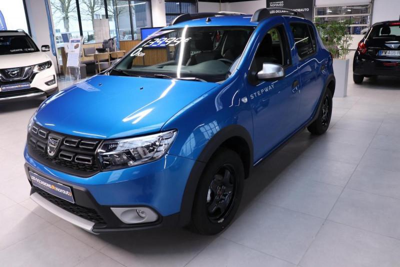Dacia Sandero ECO-G 100 Stepway Bleu occasion à Seclin
