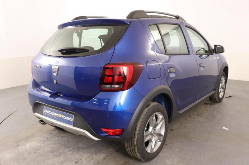 Dacia Sandero ECO-G 100 Stepway Bleu occasion à Semécourt - photo n°3