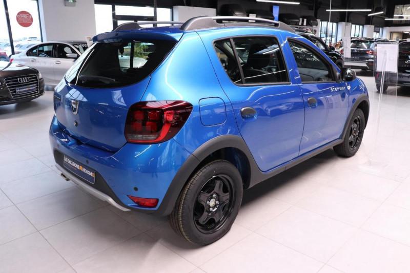 Dacia Sandero ECO-G 100 Stepway Bleu occasion à Seclin - photo n°3