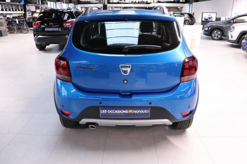 Dacia Sandero ECO-G 100 Stepway Bleu occasion à Seclin - photo n°4