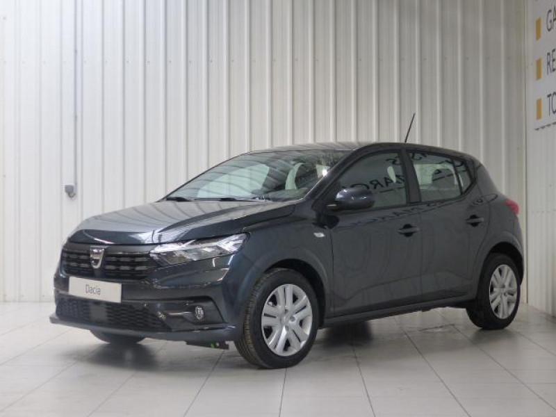 Dacia Sandero Nouvelle Confort SCe 65 Gris occasion à MORLAIX