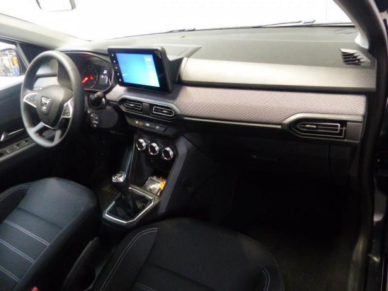 Dacia Sandero Nouvelle Confort SCe 65 Gris occasion à MORLAIX - photo n°6