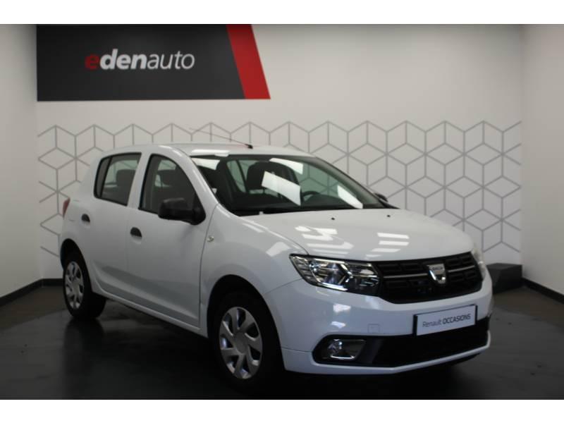 Dacia Sandero SCe 75 Ambiance Blanc occasion à DAX - photo n°15