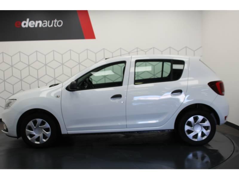 Dacia Sandero SCe 75 Ambiance Blanc occasion à DAX - photo n°12