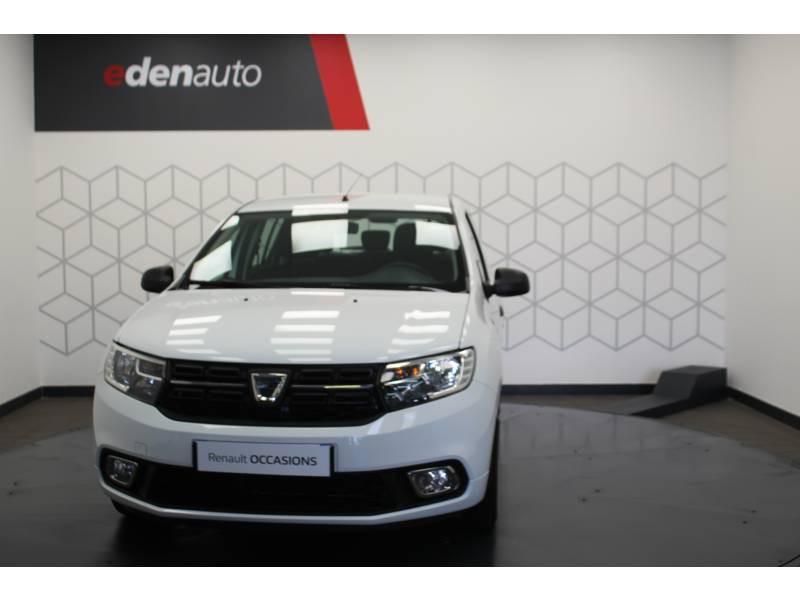 Dacia Sandero SCe 75 Ambiance Blanc occasion à DAX - photo n°14