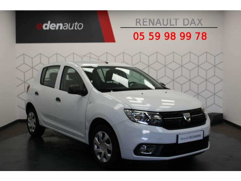 Dacia Sandero SCe 75 Ambiance Blanc occasion à DAX