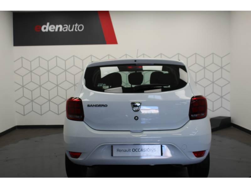 Dacia Sandero SCe 75 Ambiance Blanc occasion à DAX - photo n°10