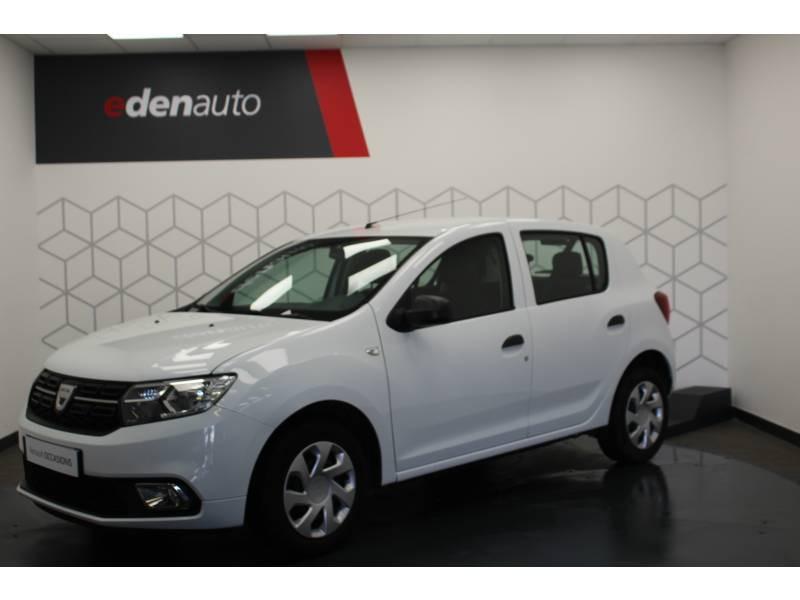 Dacia Sandero SCe 75 Ambiance Blanc occasion à DAX - photo n°13